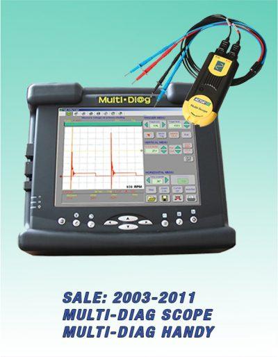 Tester Multi-Diag Handy + Osciloskop