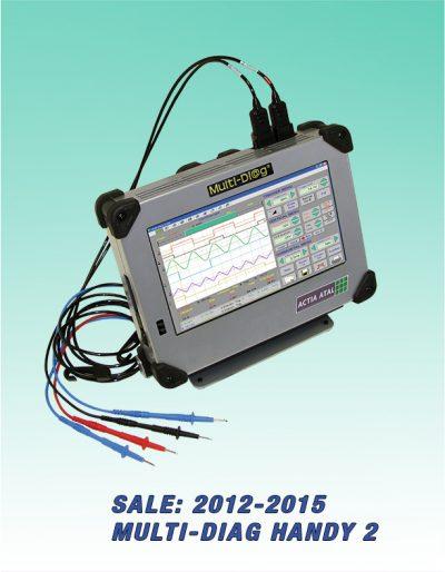 Tester Multi-Diag Handy 2 + Osciloskop